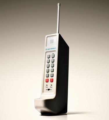 protótipo do primeiro celular feito no mundo