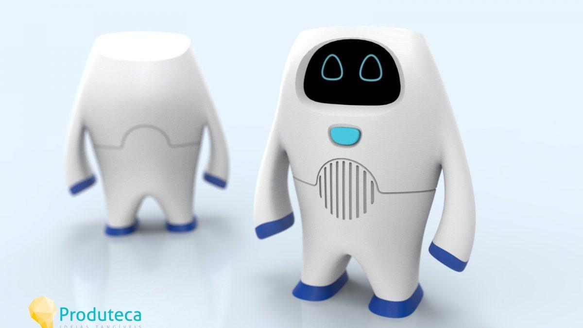 Rendering robô SENAI
